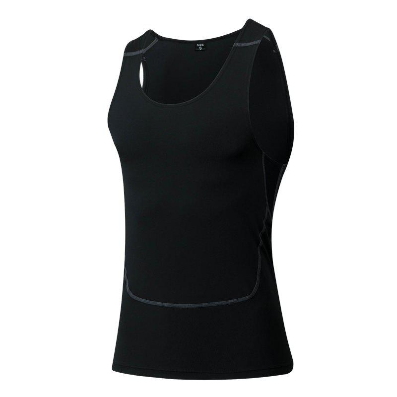 Chic Men's Sports Fitness Running Stretch Wicking Quick-Drying Vest