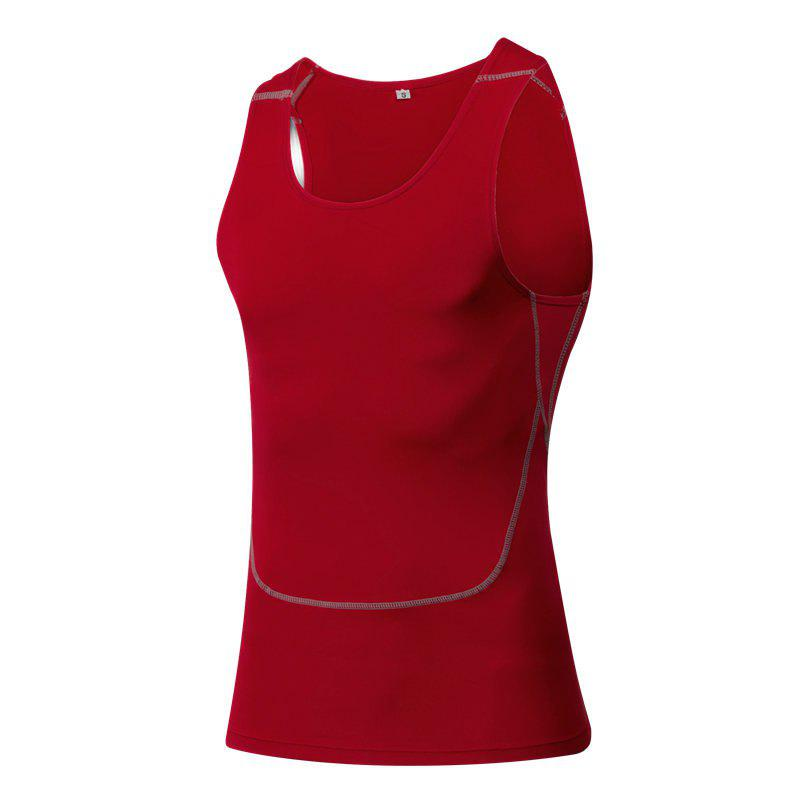 Best Men's Sports Fitness Running Stretch Wicking Quick-Drying Vest