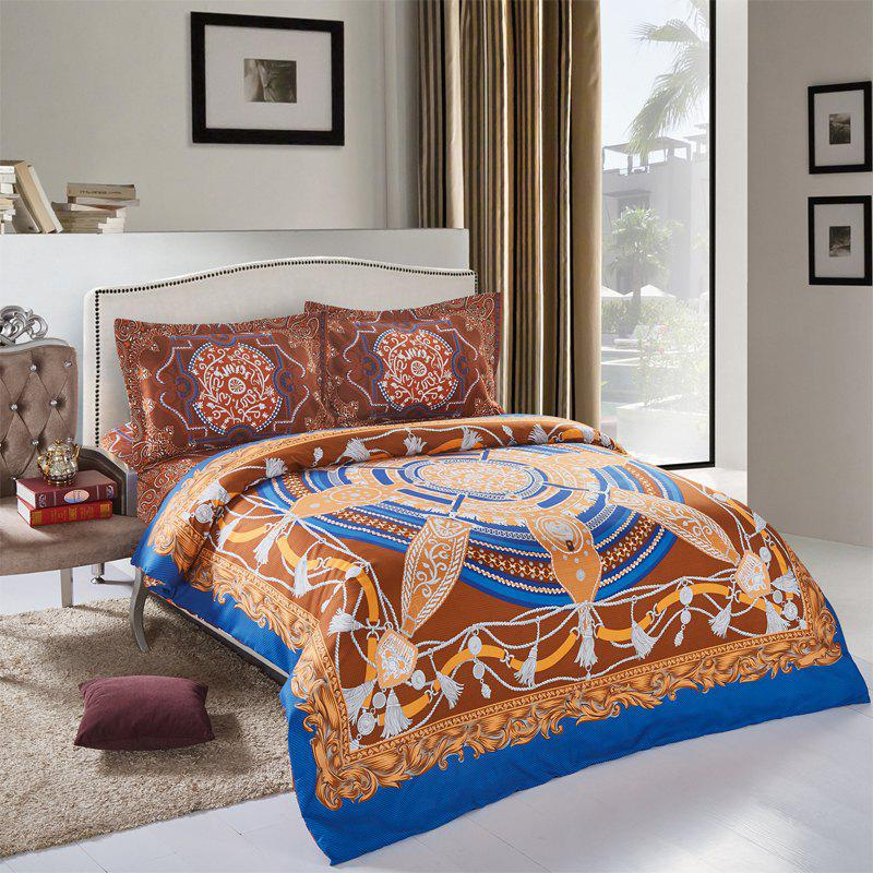 Shops Simple Bohemian Style Single / Double 2.0m Bedding Set