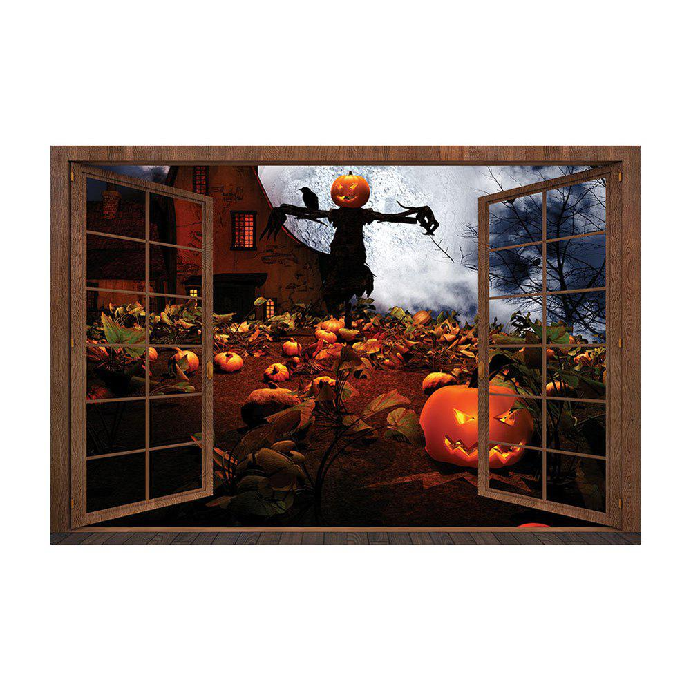 Halloween DIY Room Decoration PVC Wall Stickers