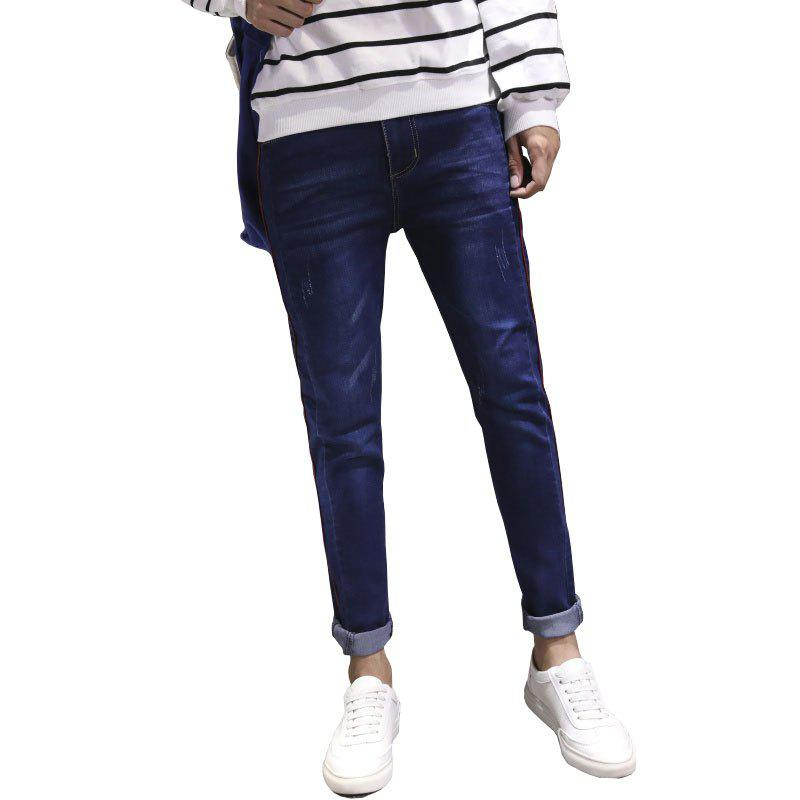 Latest Men Clothes Fall Fashion Teens Trim Jeans Casual Bottom Pants