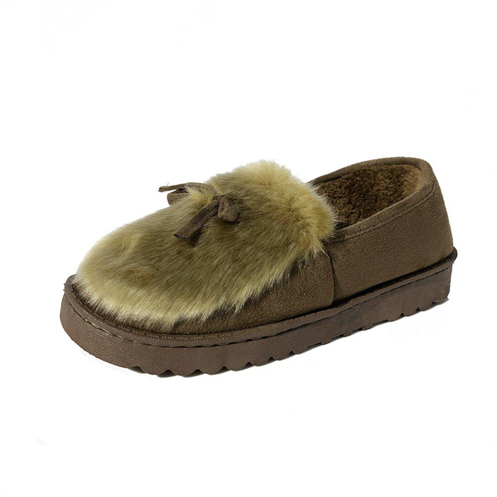 Trendy Warm Up and Low Down Cotton Shoes
