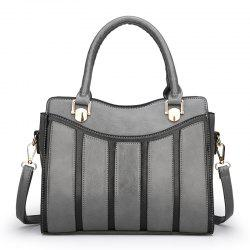 Curved Mouth Saddle Shaped Lady Handbag -