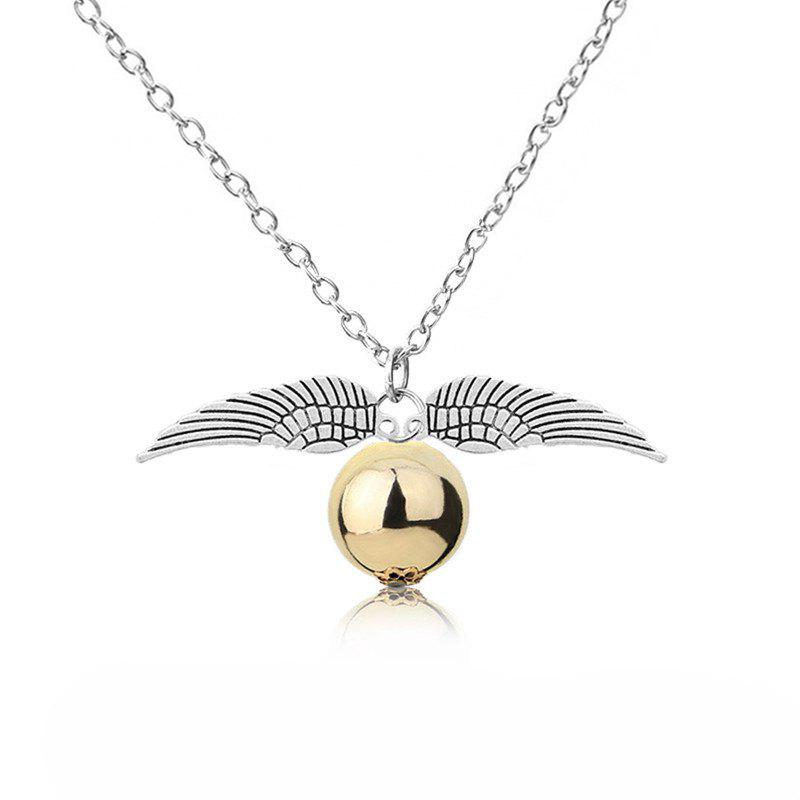 Buy European and American Fashion Ladies' Wings and Bead Pendant Necklace