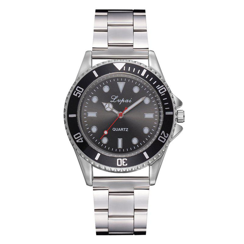 Best P691 Fashion Scale Dial Unisex Alloy Quartz Watch