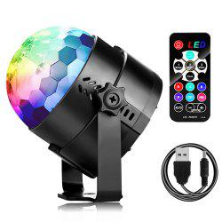 Mini Laser Stage Light LED Lighting Projector Moving DJ Party Christmas Lamp -