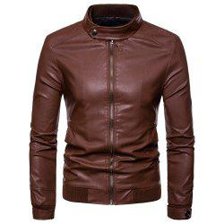 Men's Locomotive Slim Fashion Jacket -