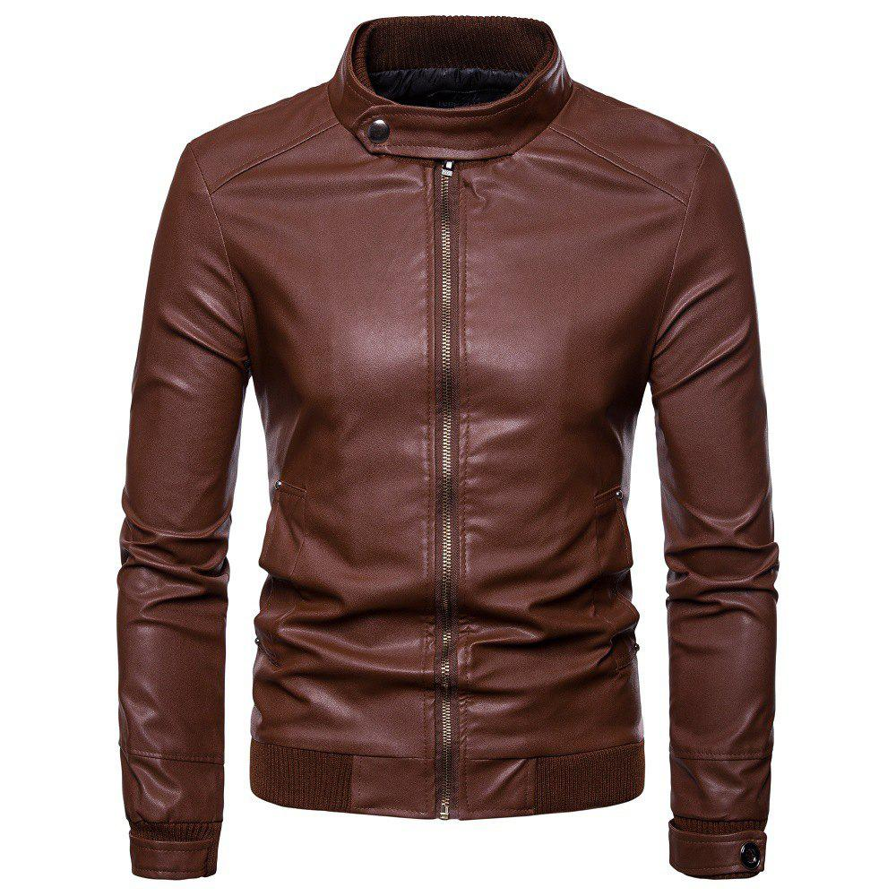 Fancy Men's Locomotive Slim Fashion Jacket