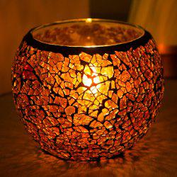 Мода Creative Home Decor Glass Ball Candle Holder для свадьбы -