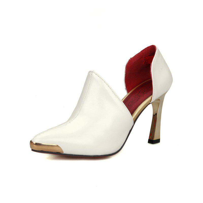 Outfit Metal High Heel Pointed Wedding Shoes