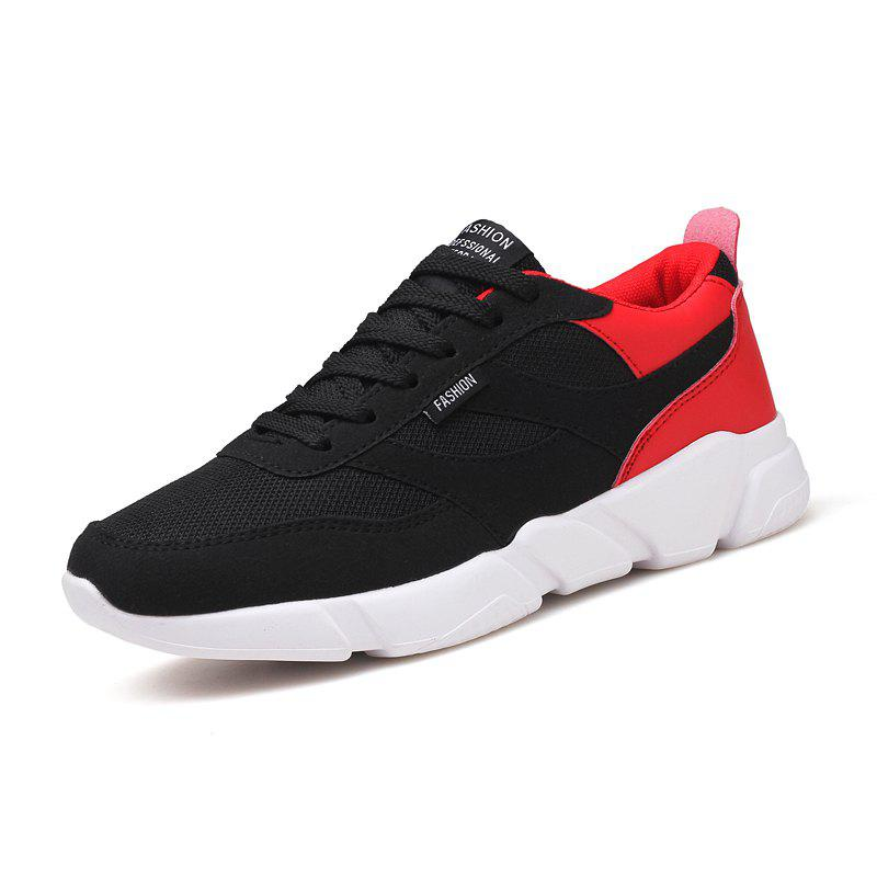 Outfit Sports Running Shoes Mesh Breathable Anti-Skid Trend