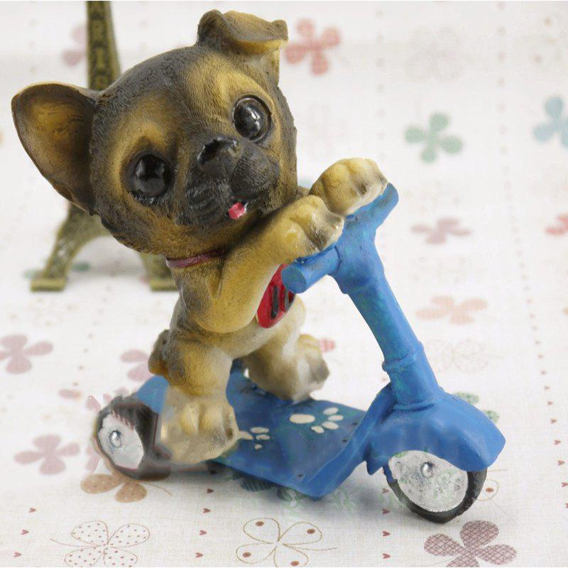 Outfits Dog Doll Riding Scooter Craft Gift