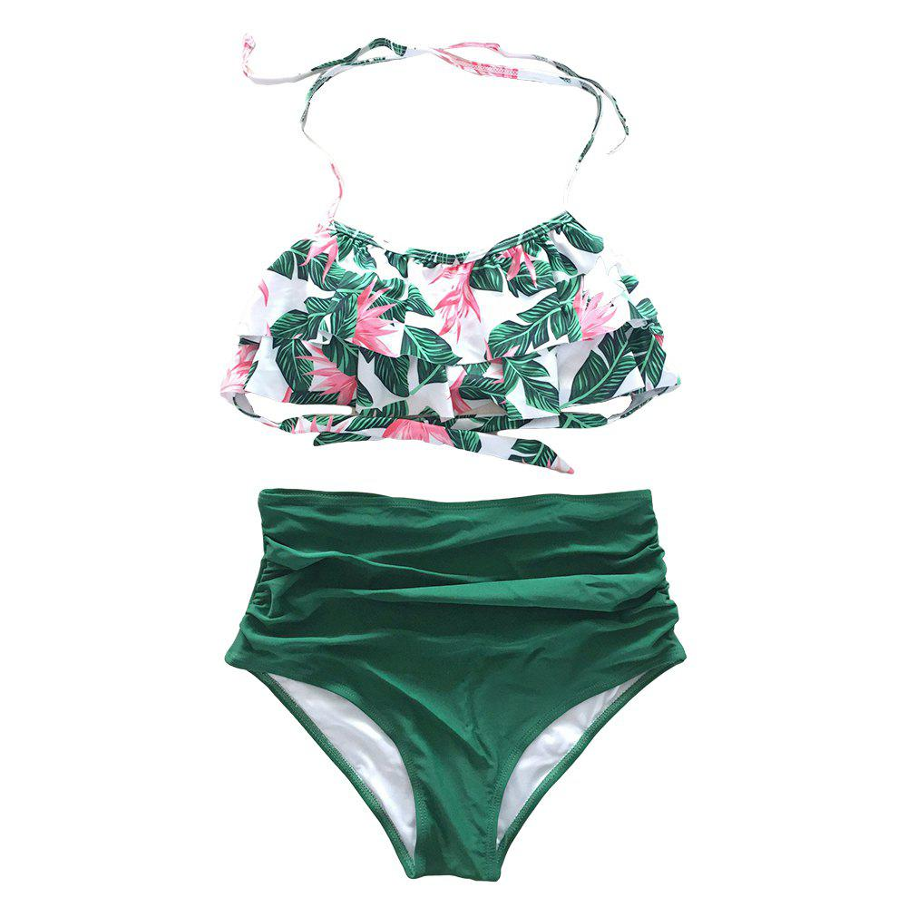 Buy SleeWlM Printing Parent-Child Outfit Mom Swimwear