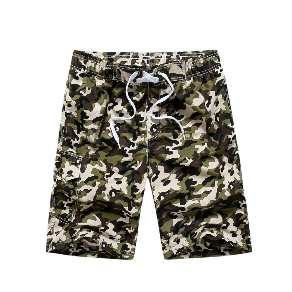 Shops Summer Couples Loose Camouflage Casual Pants Quick Dry Shorts
