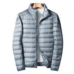 Homme Blanc Eiderdown Down Jacket -