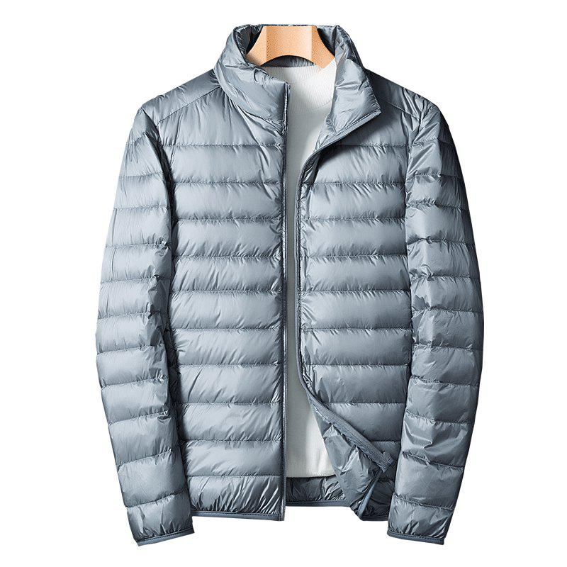 Homme Blanc Eiderdown Down Jacket