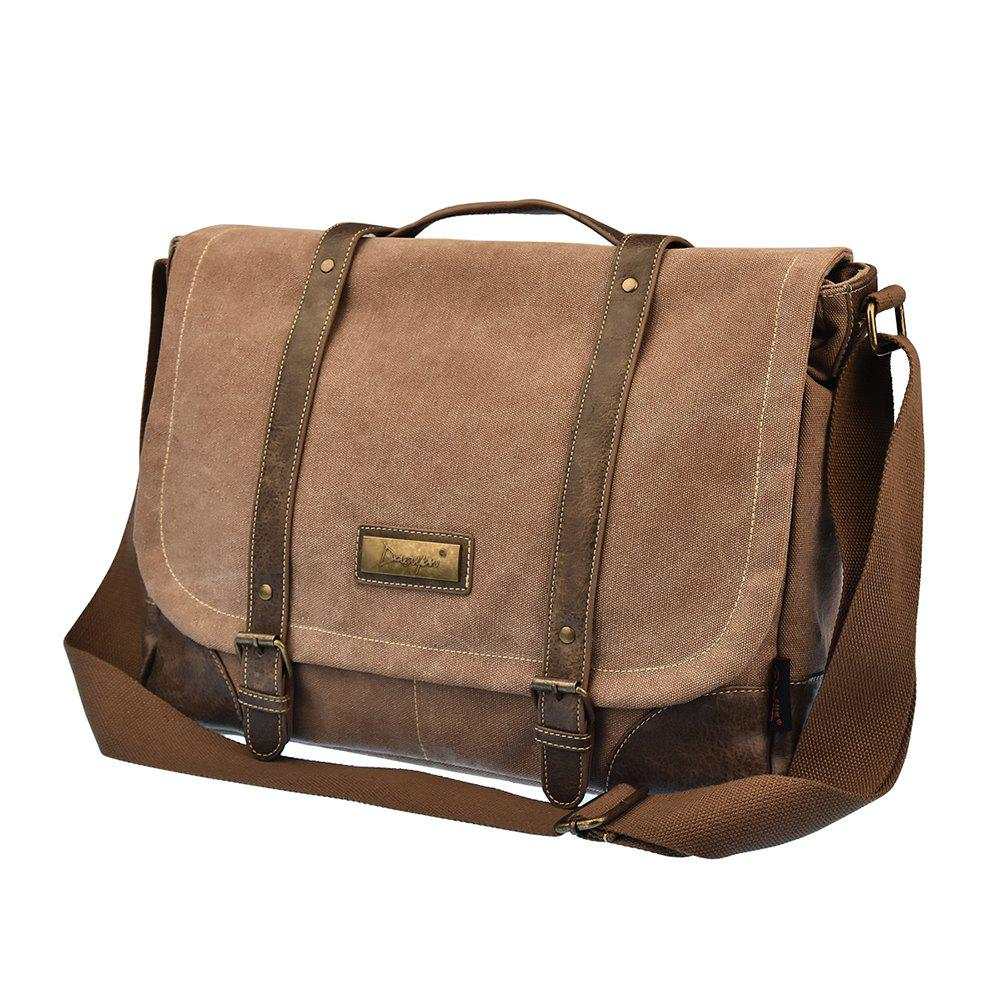 dac13bf4c5ed 47% OFF   2019 Dgy Men s Canvas Messenger Bag Shoulder Or Handbag ...