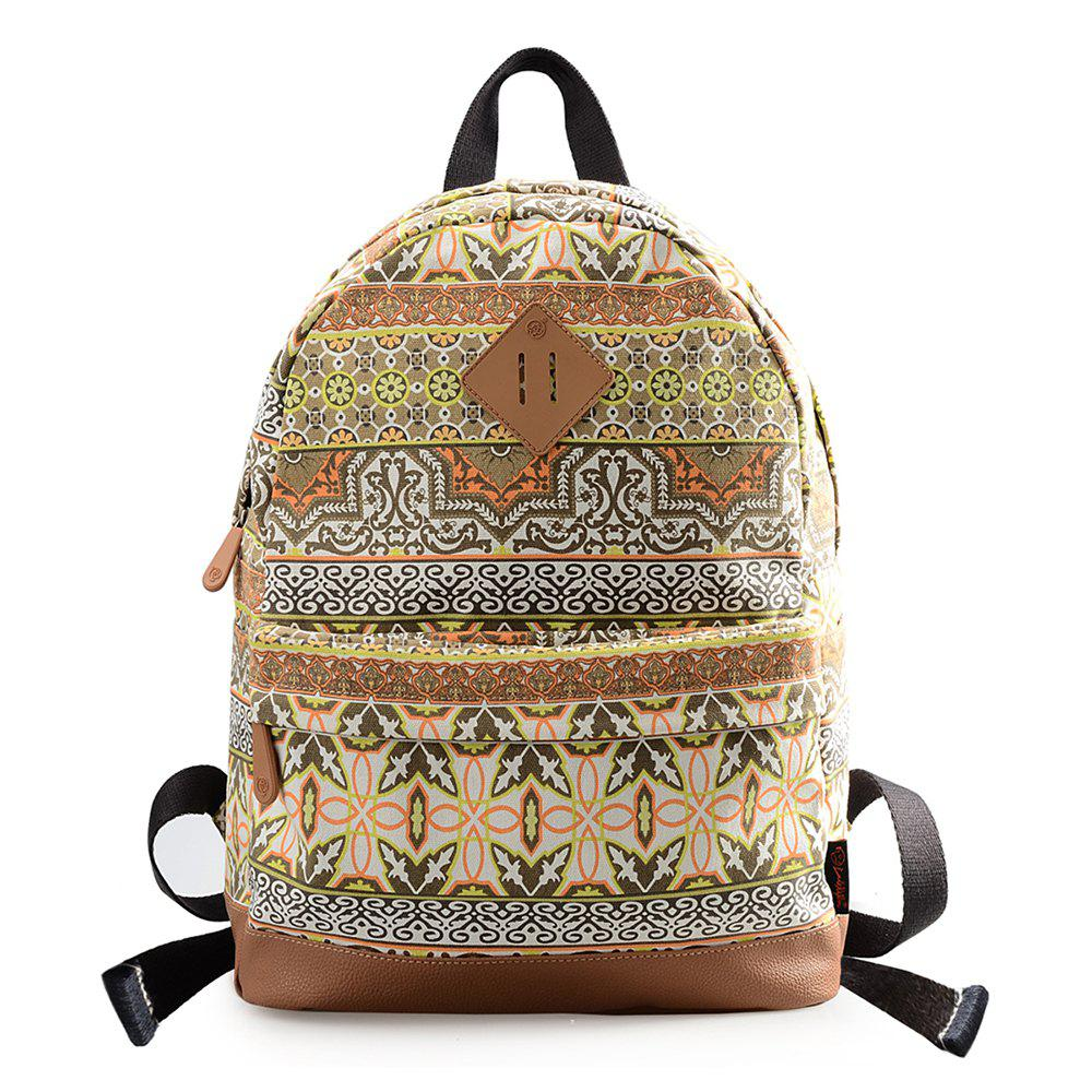 Chic DGY Fashion Printed Backpack for Teenage Cute Schoolbag