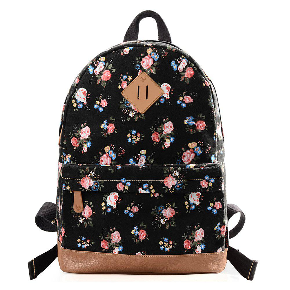 Store DGY Fashion Printed Backpack for Teenage Cute Schoolbag