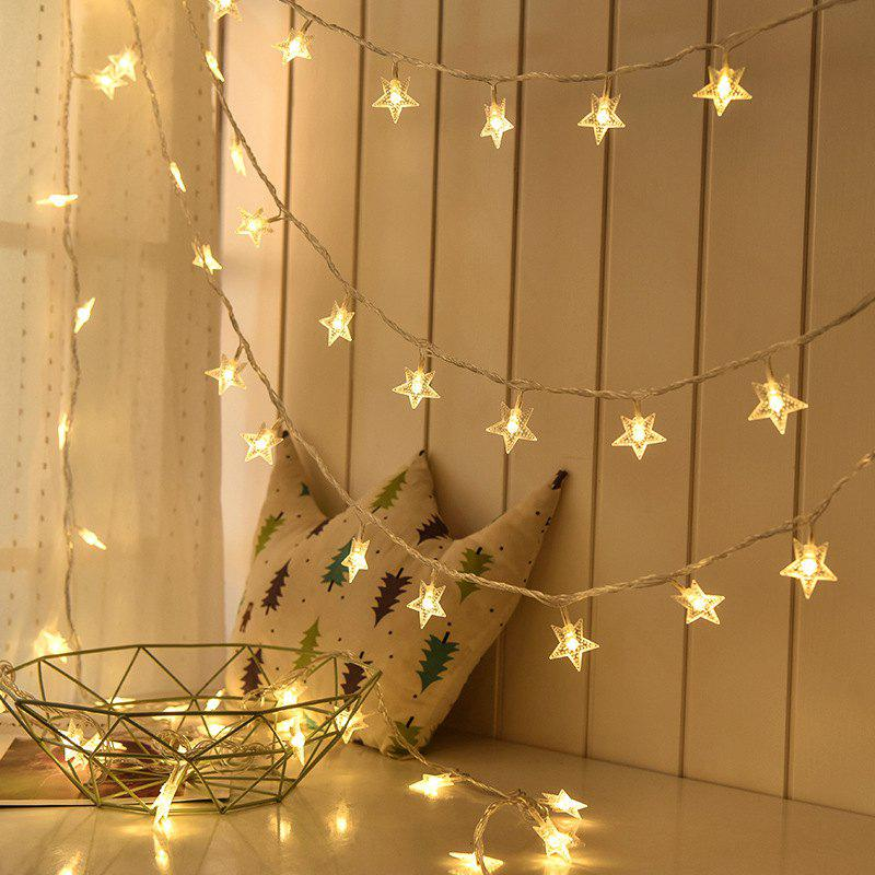fancy 1m3m6m led star fairy garland string lights novelty for new year