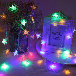 M 220V EU Plug Christmas tree Star String Fairy Novelty Lights LED Holiday light -