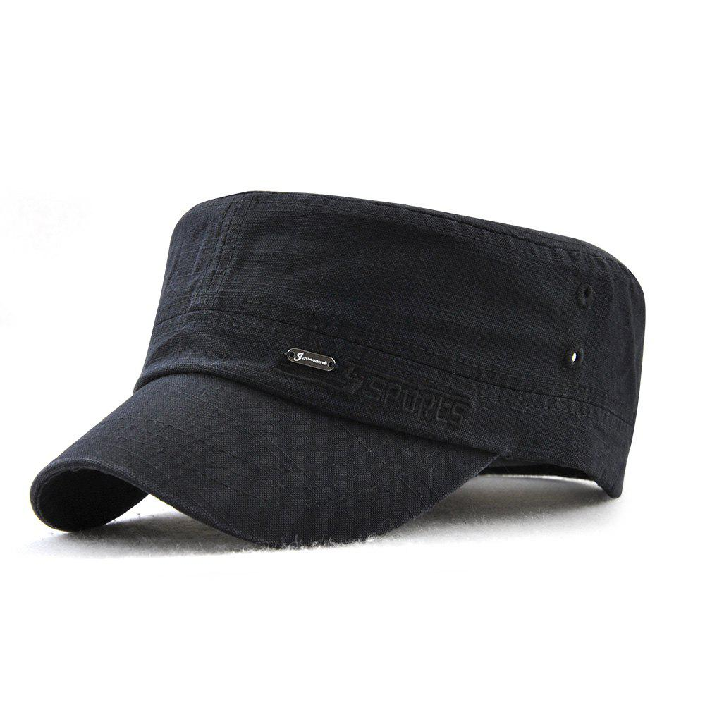 Cheap JAMONT Men and Women Embroidered Letters Sunshade Simple Wild Flat Cap