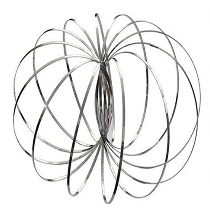 Outfit Ring Magic Flow Rings Decompression Entertaining Flowering Bracelet