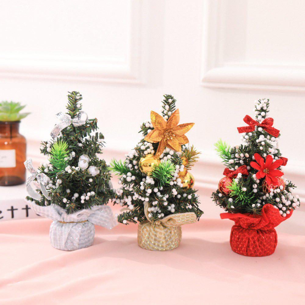 Shop 3PCS Christmas Tree Mini Christmas Decoration Tree