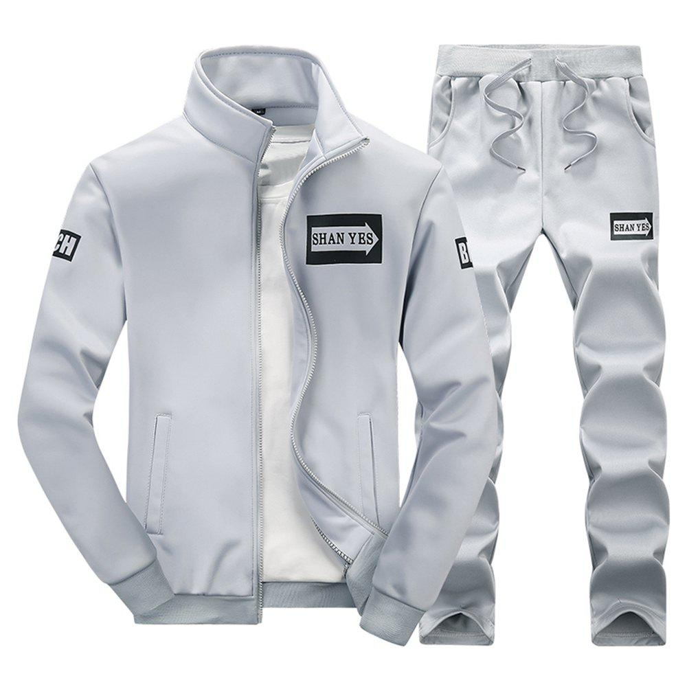 Unique Spring and Autumn Men'S Sports Set D75
