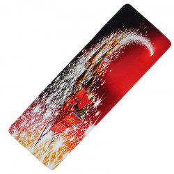 Christmas Long Floor Mat Decoration Kitchen Absorbent Anti-Slip Mat -