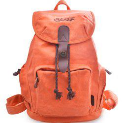 Young Lady'S Canvas School Backpack Daypack Bookbag Rucksack G00117 -