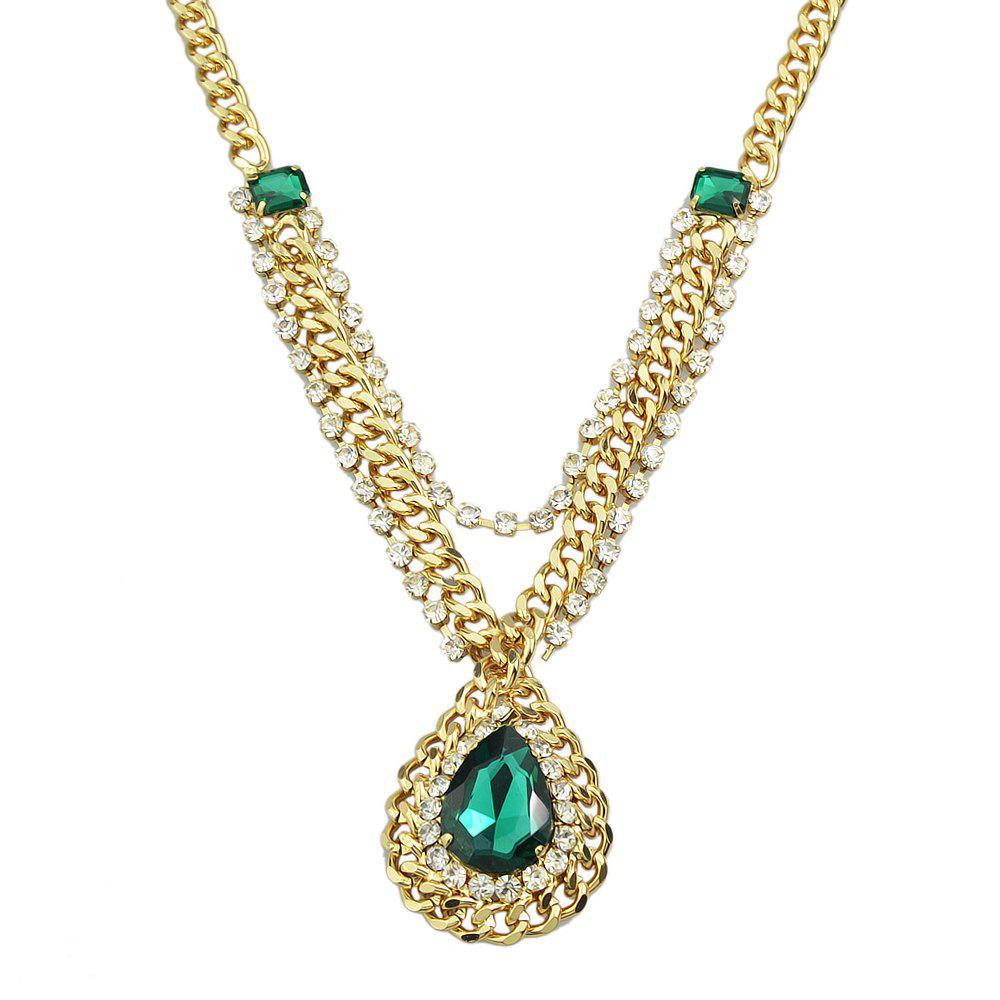 Buy Dripping Gemstone Necklace for Women