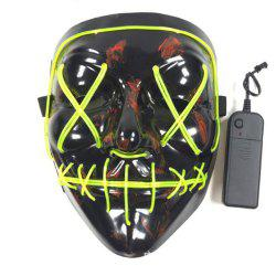 Halloween Mask LED Light Up Party Masks The Purge Election Year Great Funny Mask -