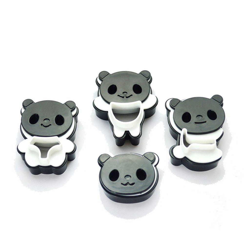 Panda Cookie Cutters Birthday Party Kitchen Baking Tools Мультфильм 3D Biscuit Mold