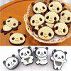 Panda Cookie Cutters Birthday Party Kitchen Baking Tools Мультфильм 3D Biscuit Mold -