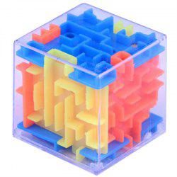Funny Maze Magic Cube Cube Puzzle Jeu Ball Toy - Multi