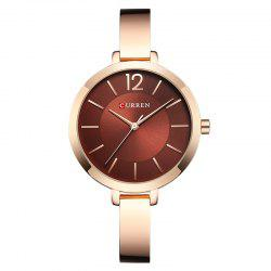 CURREN Ladies Steel Belt Casual Casual Quartz Watch -