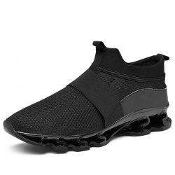 Men'S Lightweight Breathable Cushioning Sports Running Shoes -