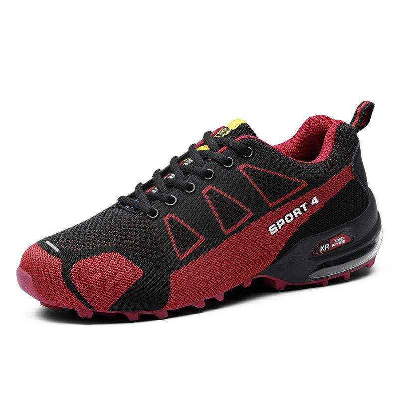 Unique Men'S Breathable Wear-Resistant Non-Slip Sports Running Hiking Shoes