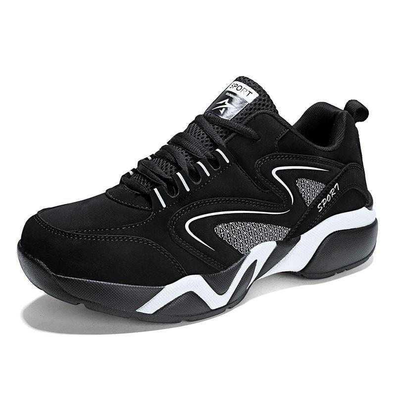 Outfit Men'S Lightweight Breathable Non-Slip Wear-Resistant Basketball Running Shoes