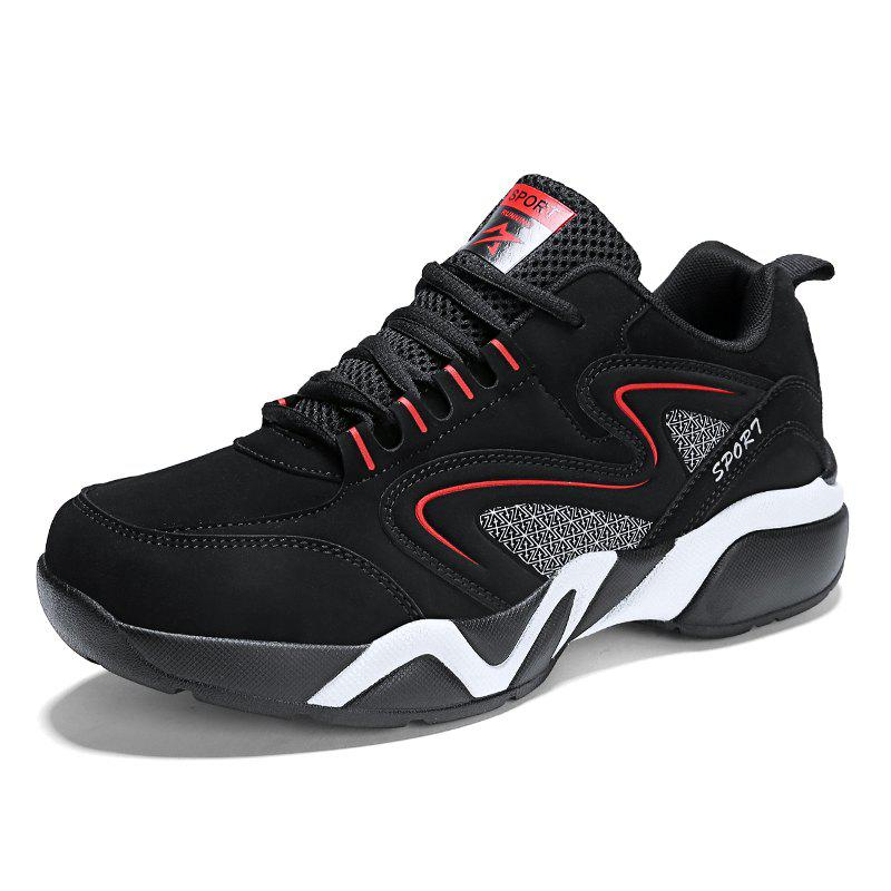 Sale Men'S Lightweight Breathable Non-Slip Wear-Resistant Basketball Running Shoes