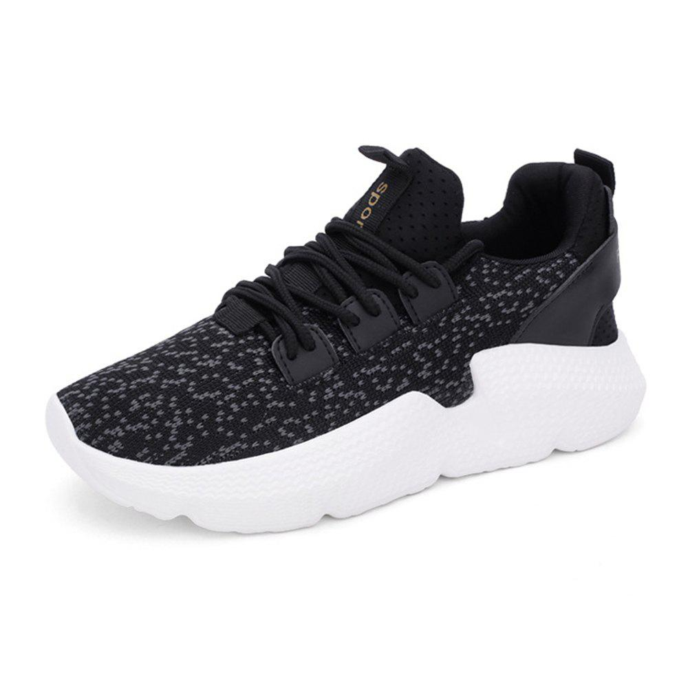 Fancy Sports Shoes Running Shoes Breathable Women'S Shoes Thick Foundation Pine C