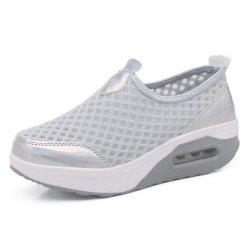 Shake Shoes Air Cushion Women'S Shoes Net Surface Leisure Sports Thick Bottom Ca -