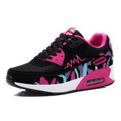 Women'S Shoes Air Cushion Shoes Sports Shoes Students Single Shoes Flat Shoes -