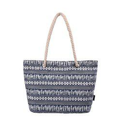 Beach and Large Totes Shopping Bag with Thick Rope Handle G00252 -
