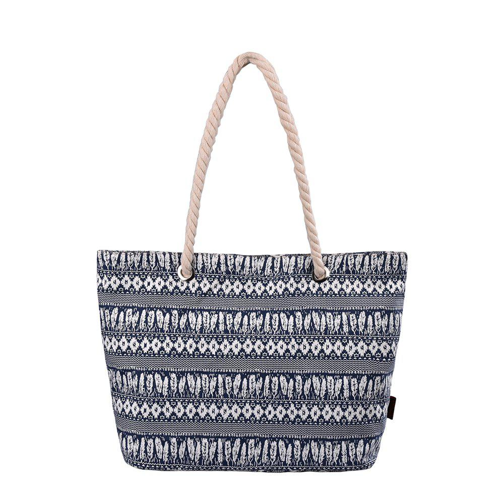 Unique Beach and Large Totes Shopping Bag with Thick Rope Handle G00252