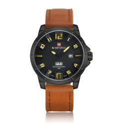 NAVIFORCE Quartz Sports Montre Homme -