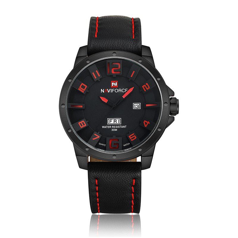 NAVIFORCE Quartz Sports Montre Homme Nuit