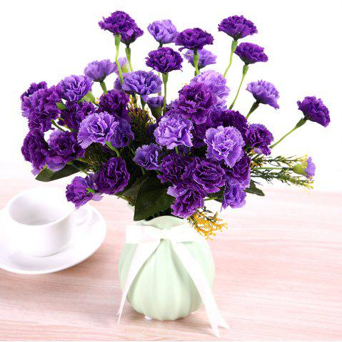 Artificial flowers cheap best discount artificial wedding flowers 7 heads luxury silk carnation home decoration artificial flower mightylinksfo