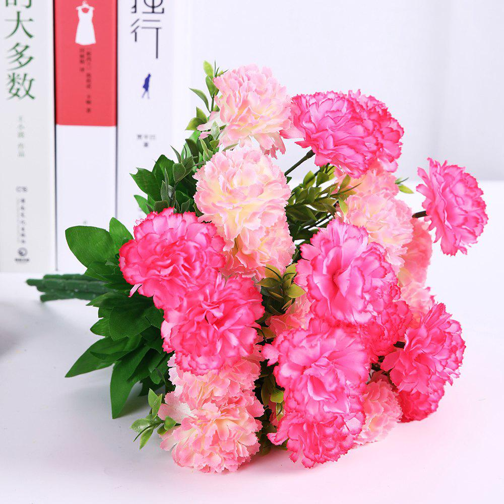 2018 Luxury A Bouquet Of Room Decoration Artificial Carnation Flower